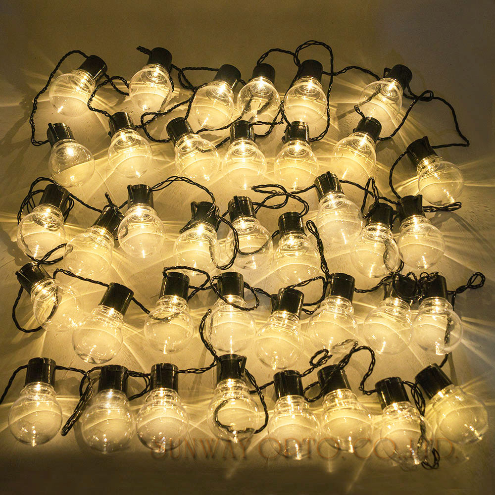 Novelty 38 pcs clear ball 10m led string festoon lights string novelty 38 pcs clear ball 10m led string festoon lights string christmas wedding outdoor holiday light decor patio lights in led string from lights mozeypictures Gallery