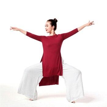Latin Dance Dress Long Sleeve Lady Ballroom Tango Dresses Cha Salsa rumba modern wear costumes Dancewear Yoga