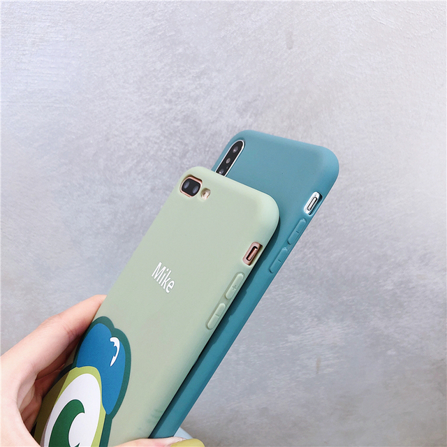 Cartoon Monsters Mike Sulley Case For iPhone