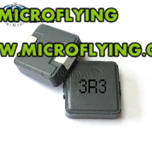 5 pcs indutor de Chip integrado 06030 3.3UH 3R3 0630 6A impresso 7*7*3 MM grande corrente