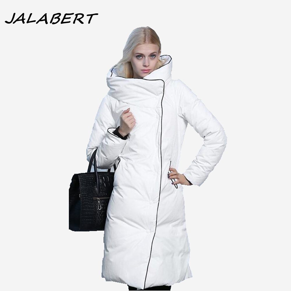 2017 new winter women loose solid thick long warm cotton jacket female Hit color hooded black large size coat parkas white large size winter jacket hooded coat women clothing korean loose thick lamb wool coat solid casual warm cotton female coats 4xl