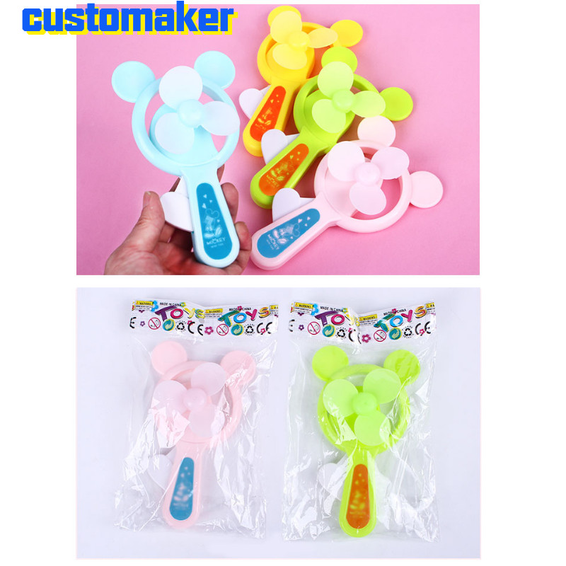 50pcs customized logo Hand pressure fan Games Gifts Outdoor Summer Cool school Gadgets company activity gifts holiday gifts can