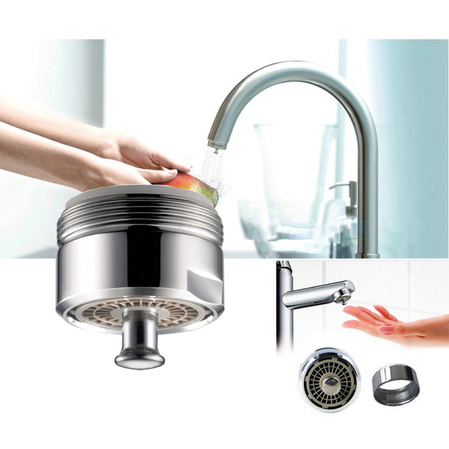 faucet aerator with on off switch. Press switch open  Close Faucet Bubbler easy use water saving tap nozzle Kitchen Aerator