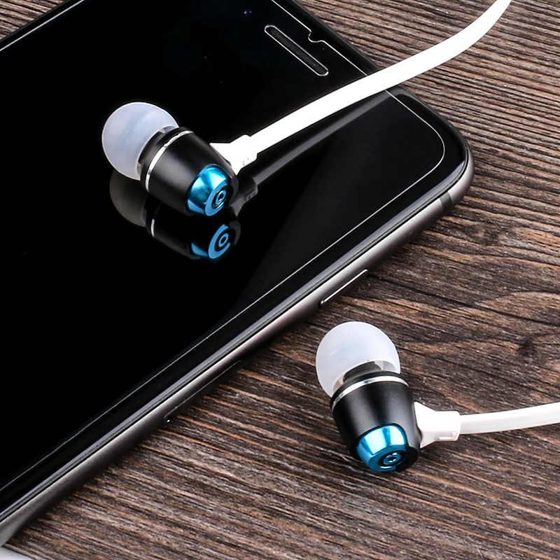 5 sztuk sylaba G02S douszne słuchawka do telefonu sportowe przewodowy zestaw słuchawkowy 3.5mm Jack linii-w zestaw słuchawkowy bez mikrofonu do G02S 5 sztuk