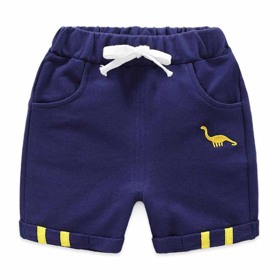 Новинка 2019 года, тонкие детские короткие штаны, одежда летние повседневные штаны для малышей Детские хлопковые шорты из конопли штаны с пятью точками для мальчиков и девочек