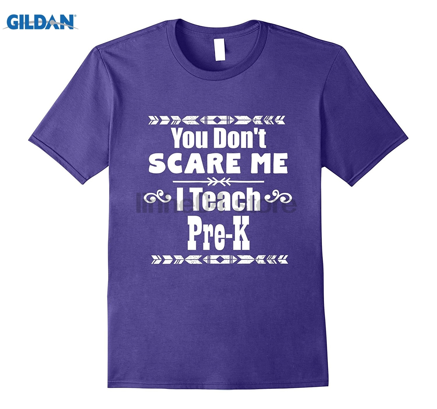 GILDAN You Dont Scare Me I Teach Pre-K School Teacher Gift T-Shirt Womens T-shirt