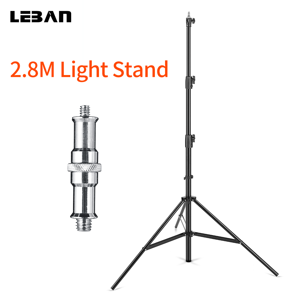 2 8m 9ft Heavy Duty Air Cushioned Studio Light Stand Pressure Light Stand Supportable in the
