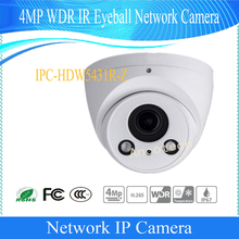 Free Shipping DAHUA Security IP Camera cctv 4MP 1080P WDR IR Eyeball Network Camera with POE IP67 Without Logo IPC-HDW5431R-Z