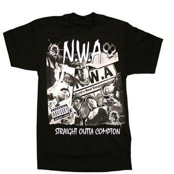 7a3369e66e43 N W un de los hombres T camisa Hip Hop Rap Nwa Dr Dre Eazy E Dj ...