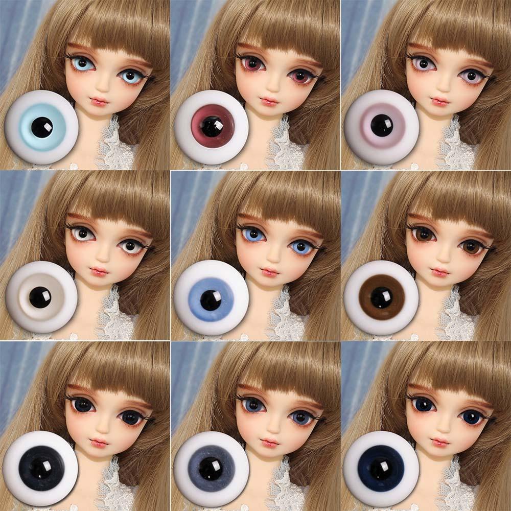 Blyth Dolls Eyes Reborn 12mm Toys Girls DBS 1/4 BJD Fortune Days Nine-Color High-Quality