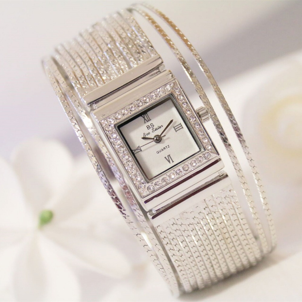 New Arrival Famous Brand Diamond Bracelet Watch Women Hot Sale Luxury Silver Watch Jewelry Shinning Rhinestone Bangle Bracelet new arrival grace bs brand full diamond luxury bracelet watch hot sale women 14k austrian crystals watch lady rhinestone bangle