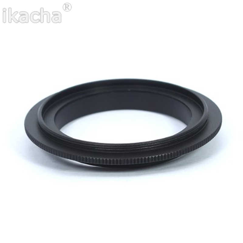 Lensa kamera Makro Reverse Adapter Cincin 49mm 52mm 55mm 58mm 62mm 67mm 72mm 77mm Filter Thread Mount Lens untuk Canon EOS Kamera