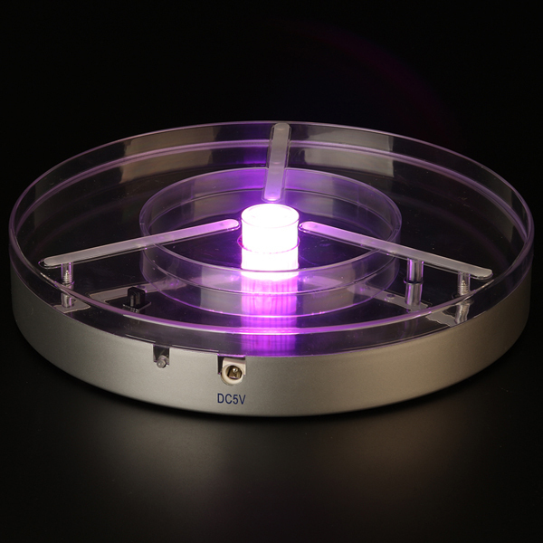Pink LED Light Base 8inch