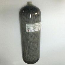 2017 9L 4500psi CE PCP air gun carbon fiber cylinder scuba hign pressure tank 300bar-E