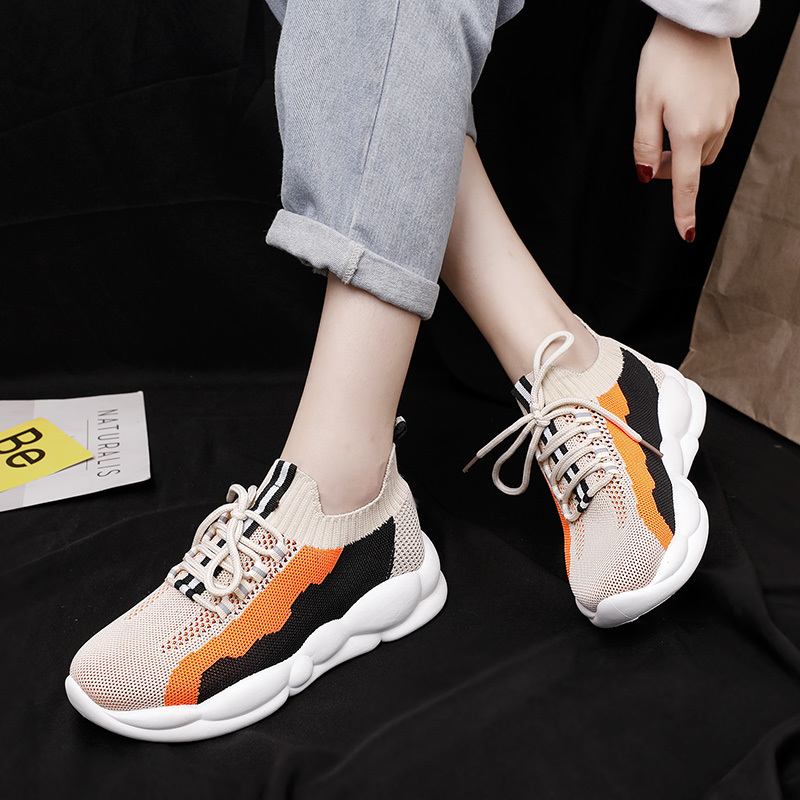 Spring Autumn Brand Women Shoes Flat Sneakers Female Loafers Soft  Casual Flats Shoes Female Zapatillas Mujer Espadrilles B3-94(China)