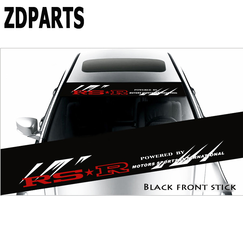 ZDPARTS Car Styling Window Impermeable Decal Sticker For Suzuki Grand Vitara Swift SX4 Mitsubishi ASX Audi A 4 Fiat 500