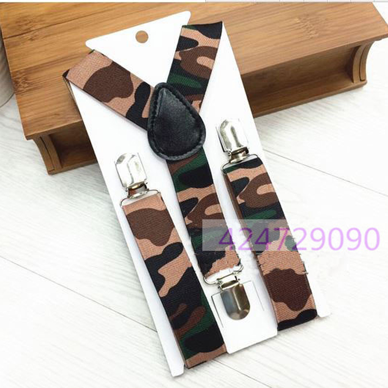 Hot Boys Girls Kids Chidren Toddlers Unisex Suspenders Y-Back Adjustable Clip-on Trousers Elastic Party Braces YHH0023
