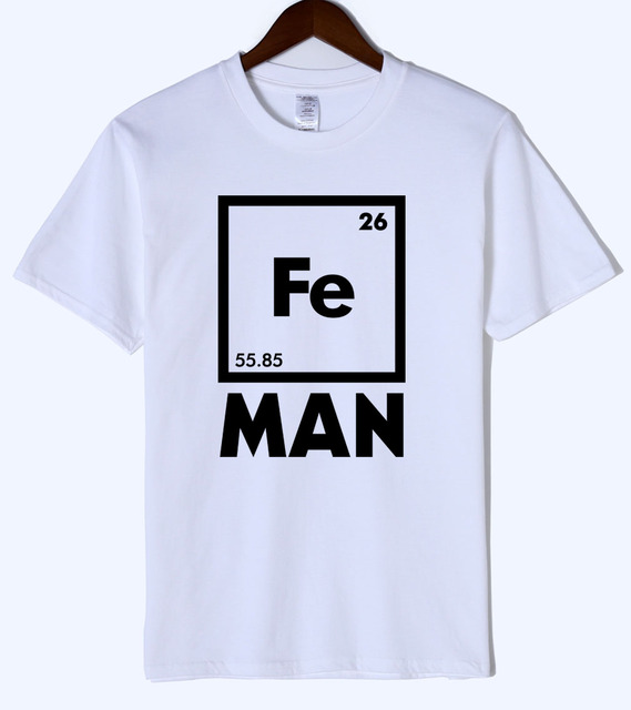 2018 summer iron science t shirt funny chemistry superhero shirt 2018 summer iron science t shirt funny chemistry superhero shirt periodic table tee top mens urtaz Images