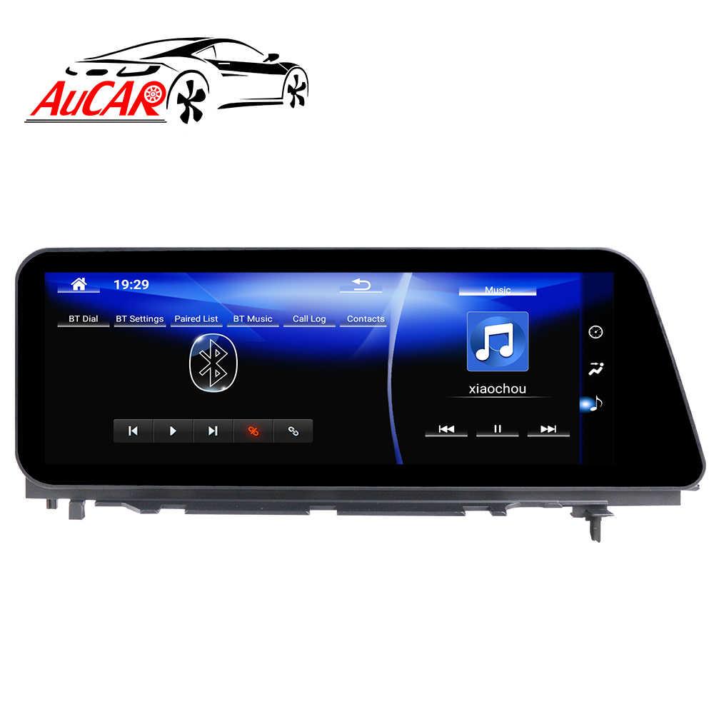 Dodaj do porównania AuCAR Android 12.3 Radio samochodowe dla Lexus RX 200 300 350 450 2015-2019 GPS DVD odtwarzacz ekran dotykowy Multimedia