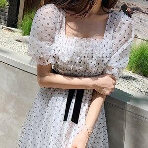 Image 2 - Dabuwawa Womens Retro Sweet Polk Dot Fariry Midi Dress  New Summer Elegant Party Dating Dress DN1BDR127