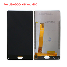 Для LEAGOO KIICAA MIX lcd дисплей кодирующий преобразователь сенсорного экрана в сборе для LEAGOO KIICAA MIX screen lcd дисплей бесплатные инструменты