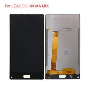 Image 1 - Oryginał dla LEAGOO KIICAA MIX wyświetlacz LCD ekran dotykowy Digitizer zgromadzenie dla LEAGOO KIICAA MIX wyświetlacz LCD ekran z bezpłatnych narzędzi w