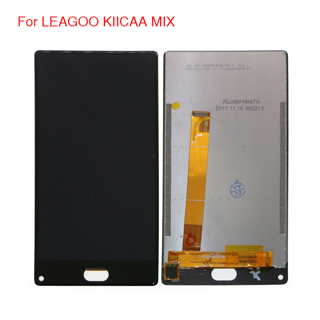 Oryginał dla LEAGOO KIICAA MIX wyświetlacz LCD ekran dotykowy Digitizer zgromadzenie dla LEAGOO KIICAA MIX wyświetlacz LCD ekran z bezpłatnych narzędzi w