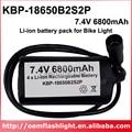 Высокое качество KBP-18650B2S2P 7 4 V 6800mAh 4 x NCR18650B литий-ионная аккумуляторная батарея 18650