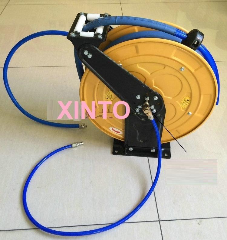 10-15M автомобильной высокое давление воды катушка для шланга, автоматическая выдвижная катушка - Цвет: X07A0030  10M