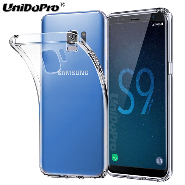 official photos 3f133 a2e0f US $85.0 |100PCS Soft Gel TPU Case for Samsung Galaxy S9 Cover, Clear  Silicone Capa for Galaxy S9+ S9 Plus Exynos Back Cases Skin-in Half-wrapped  Case ...