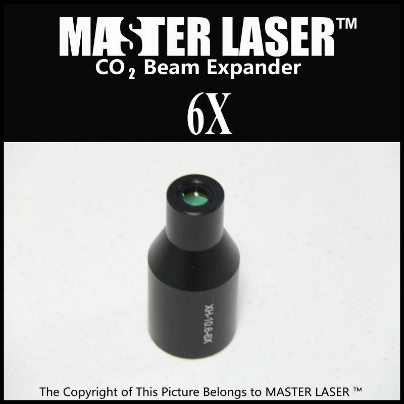6 Times CO2 Galvo  System Beam Expander for Laser Marking Machine Laser Expander