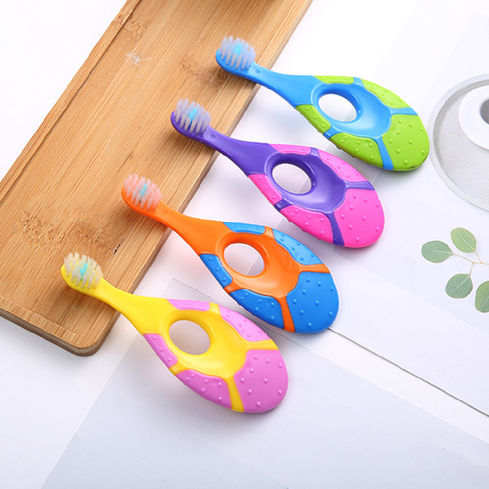 2pcs Children Soft-bristle Toothbrush Cartoon Oral Care Tooth Brush Ultra Soft Bristles Cartoon Antibacterial Toothbrush