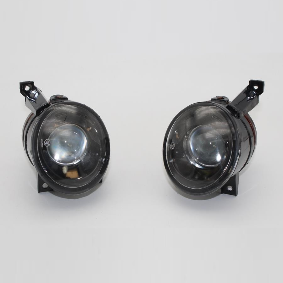 DFLA Car Light For VW Touran 2003 2004 2005 Car-styling Front Halogen Fog Light Fog Light With Convex Lens And Bulbs front bumper fog lamp grille led convex lens fog light angel eyes for vw polo 2001 2002 2003 2004 2005 drl car accessory p364