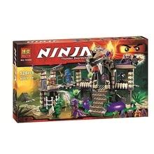 528pcs BELA 10324 Ninjagoes Enter The Serpent Lloyd Jay Kapau'rai Minifigures Building Blocks Figures Toys