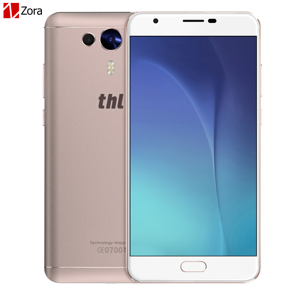 THL Knight 1 Mobile Phone 5.5 Inch FHD Android 7.0 MTK6750T Octa-core 3GB RAM 32GB ROM 13MP Dual Camera Fingerprint ID 4G LTE