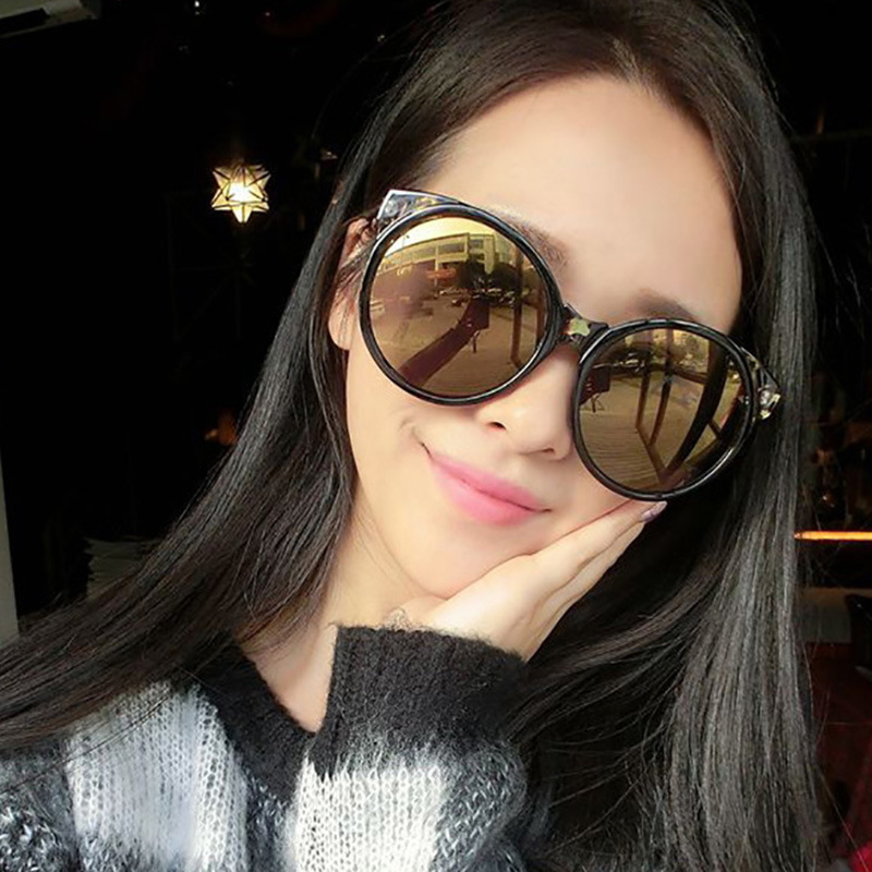 2018 New sunglasses female round frame tidal glasses factory wholesale 5057 glasses wholesale 5057
