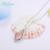 Eu & 4.25ct zuan 925 sterling silver natural quartzo rosa fada colar pingente jóias com corrente de prata de presente de natal