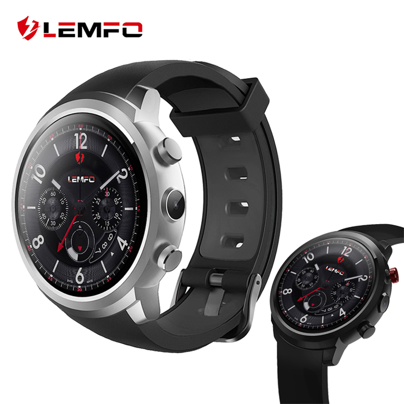 все цены на LEMFO LEF2 Smart Watch Phone Android 5.1 Two Modes MTK6580 512MB+ 8GB Smartwatch Heart Rate Monitor GPS Tracker онлайн