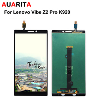 For Lenovo Vibe Z2 Pro K920 LCD Display Touch Panel Screen Glass Assembly Replacement Parts Tools