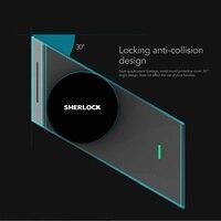 Шерлок S2 серебро отпечатков пальцев + пароль Smart Stick Smart Lock замок двери Bluetooth Wirelless открыть или закрыть дверь APP управление