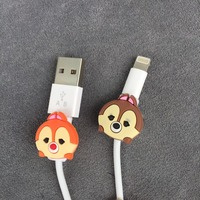 Cartoon Cable Protector Data Line Cord Protector Protective Case Cable Winder Cover For iPhone5 5s 6 6plus 6s USB Charging Cable 3
