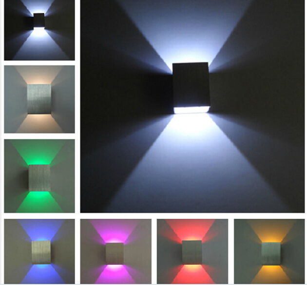 Led Wall Light Decor: 2014 Free Shipping Up And Down Led Wall Light 1x3W Wall