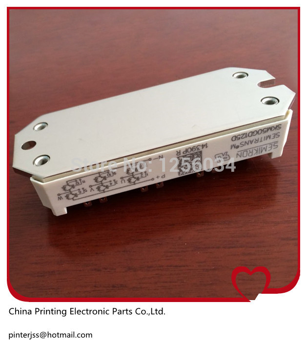 цены на 1 piece new and original SKM50GD125D for KLM4 board, power IGBT Module SKM50GD125D в интернет-магазинах