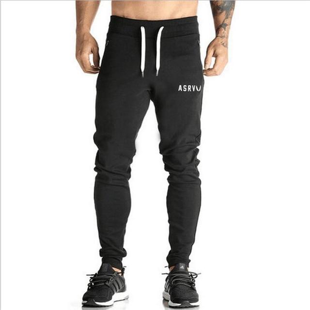 2017 Oros GymShark Hombres Joggers Basculador Pantalones Marca Pantalones Casual Hombres SportTraining Profesional Culturismo pantalones de Chándal