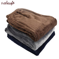 Fdfklak L XL XXL 3XL Plus Size High Quality Winter Flannel Women S Pants Pyjama Bottoms
