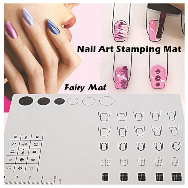 2016 Foldable Practice Manicure Tools Silicone Soft Nail Polish ...