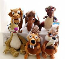 New Arrival Scrat Plush Squirrel Stuffed Plush Toy Ice Age 3 High Quality Ice Age Soft