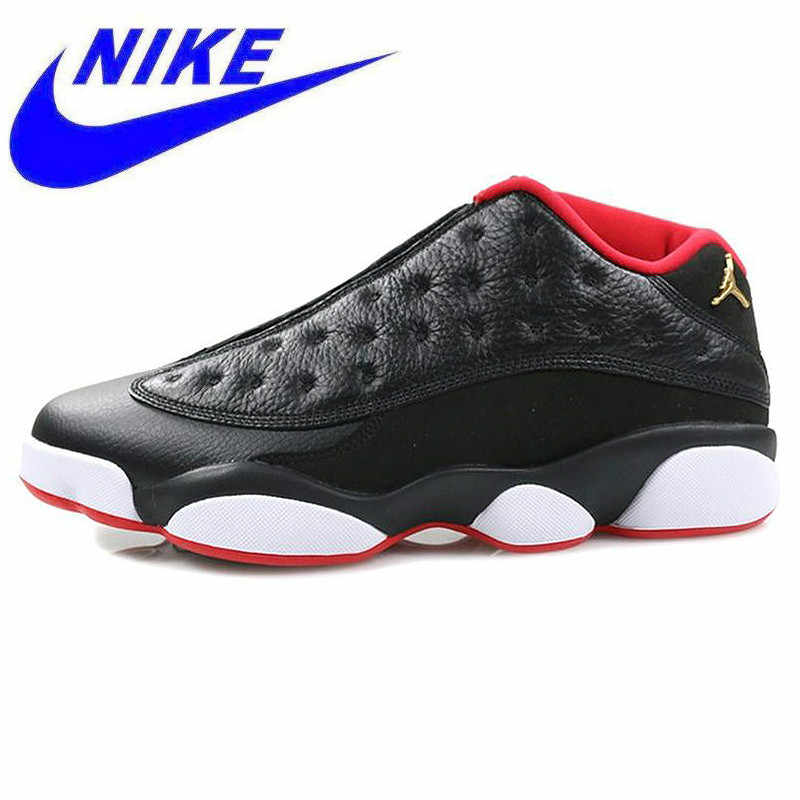 buy online 9ab92 d552a Original Nike Air Jordan 13 Retro Low Bred Men Basketball Shoes,Original  Men Outdoor Sport