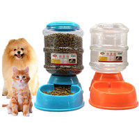 3 5L Pet Dog Drinkers Cat Automatic Feeder Drinking Animal Pet Bowl Water Bowel For Pets