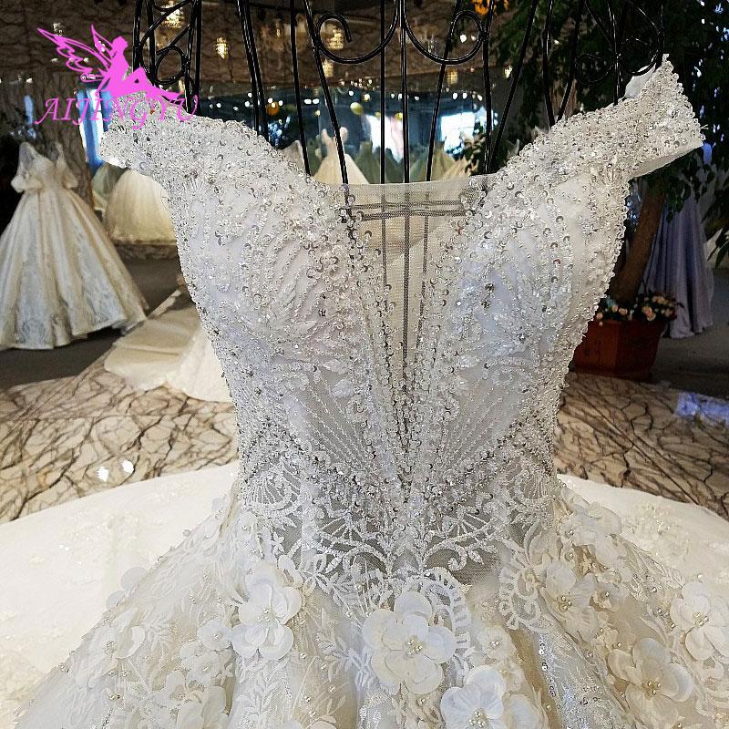 Image 5 - AIJINGYU Wedding Dress Retro Norway Ball Prices White Simple Lace Luxury Gowns Wedding DressesWedding Dresses   -